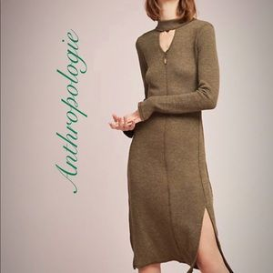 Anthropologie Caroline Knit Dress
